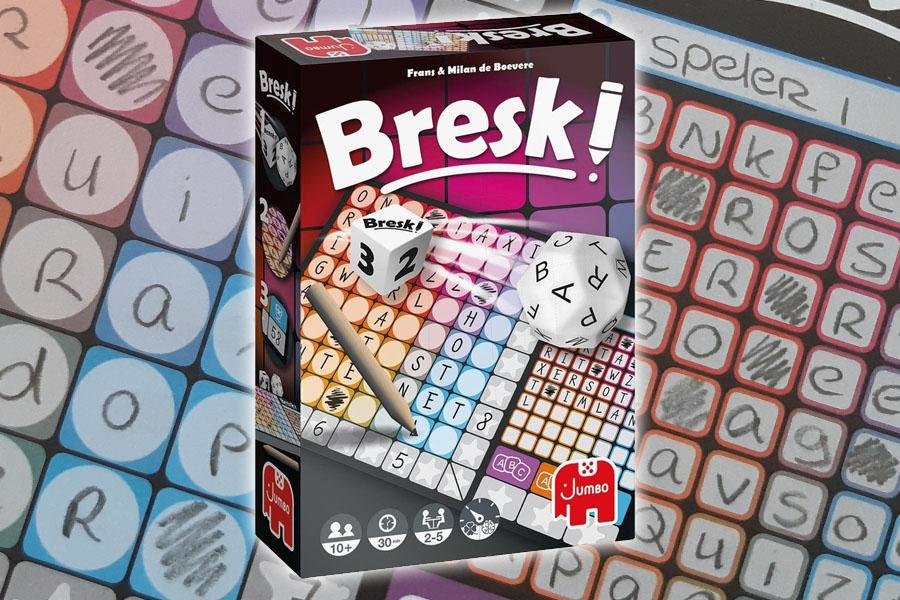 Bresk! review: een vorm van Scrabble met dobbelstenen