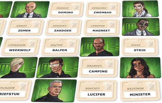 Codenames Duet kaarten