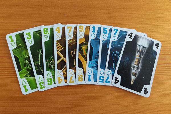 De Crew: handkaarten