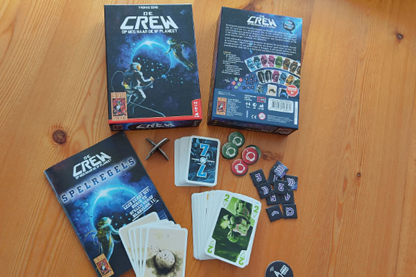 De Crew: inhoud van de doos