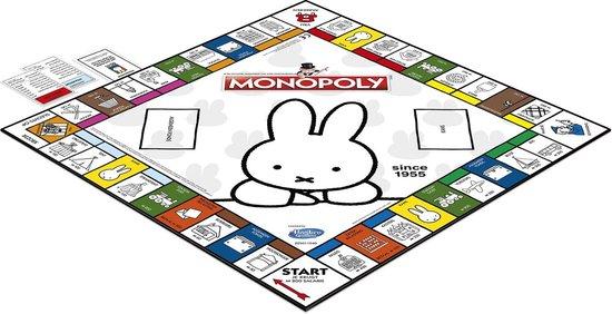 Monopoly Nijntje 65 jaar speelbord