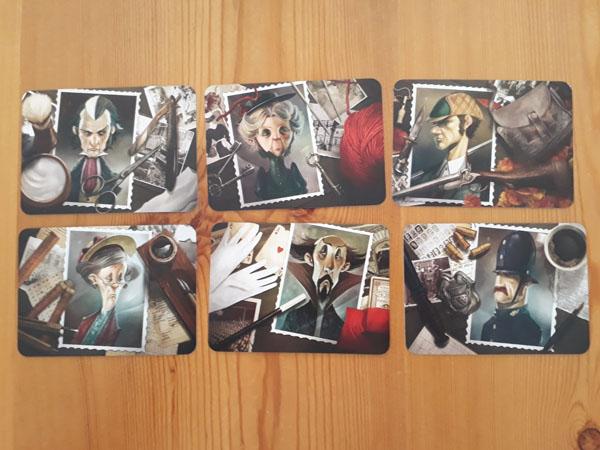 Personagekaarten