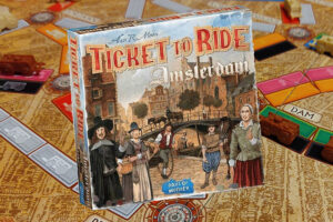 Ticket to Ride Amsterdam review