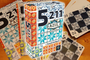 Azul 5211 kaartspel review: vlot tactisch kaartspel