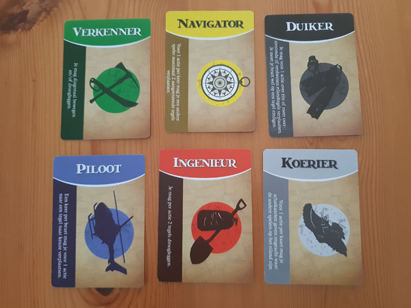Karakterkaarten Het Verboden Eiland