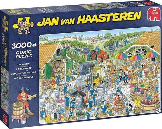 Jan van Haasteren: De wijnmakerij, 3000 stukjes