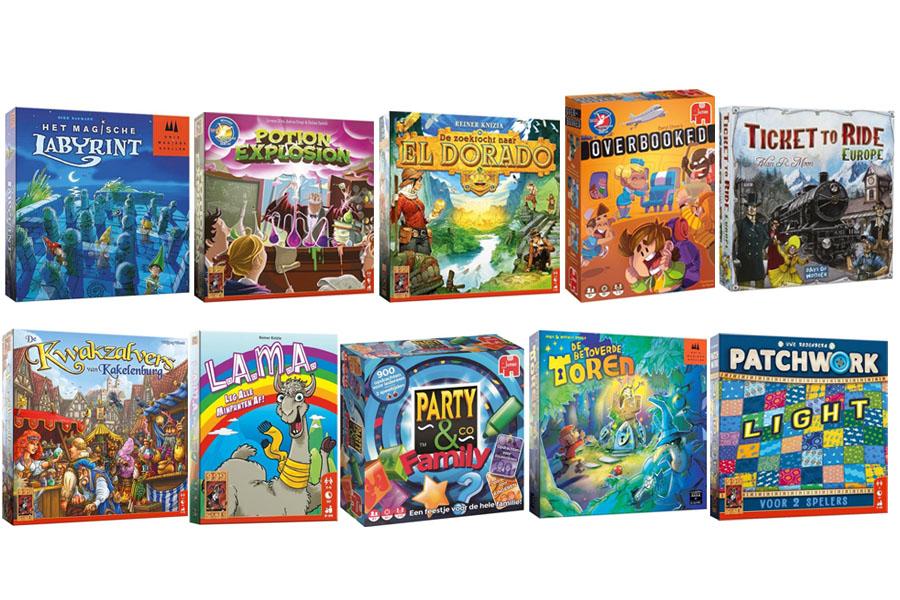 Top 10 leukste bordspellen voor kinderen (6 tot 12 jaar)