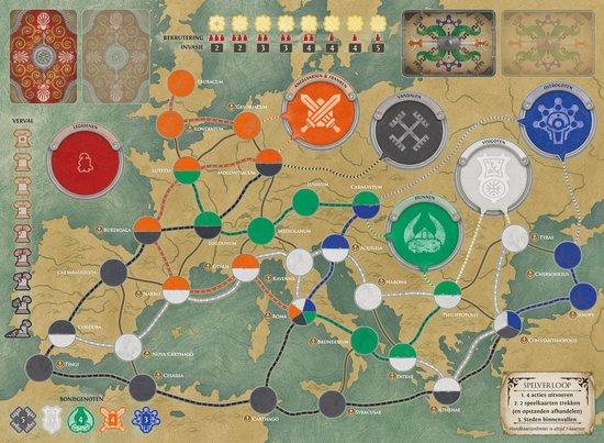 Pandemic Fall of Rome speelbord