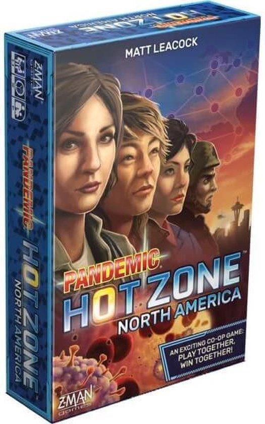 Pandemic Hot Zone North America