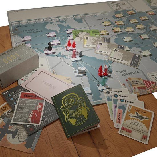 Pandemic Legacy Seizoen 0 overzicht