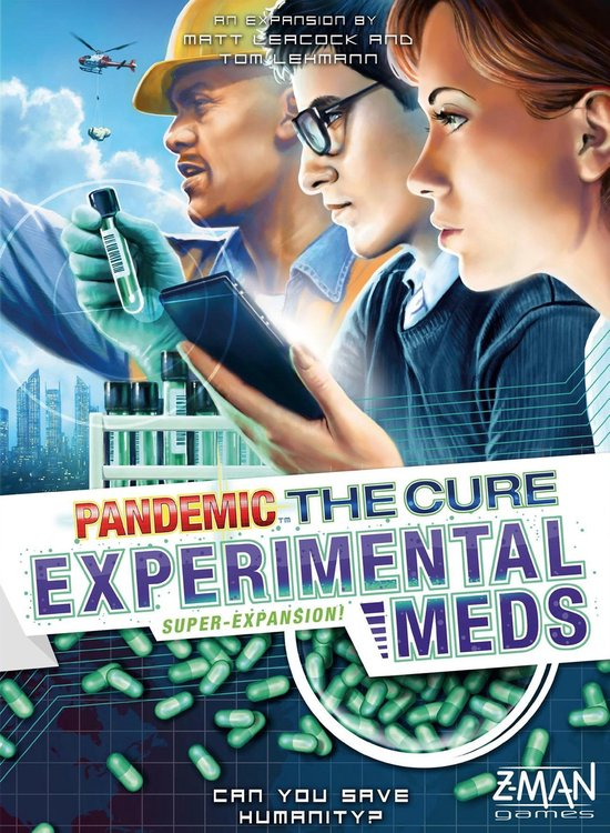Pandemic The Cure Experimental Labs