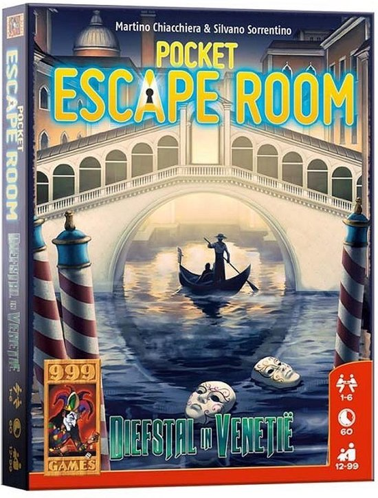 Pocket Escaperoom Diefstal in Venetië