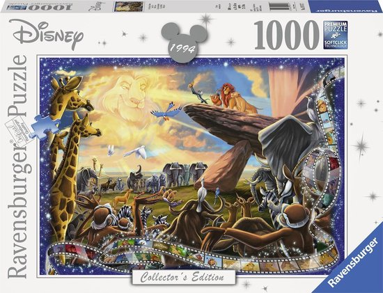 Ravensburger Disney The Lion King puzzel, 1000 stukjes
