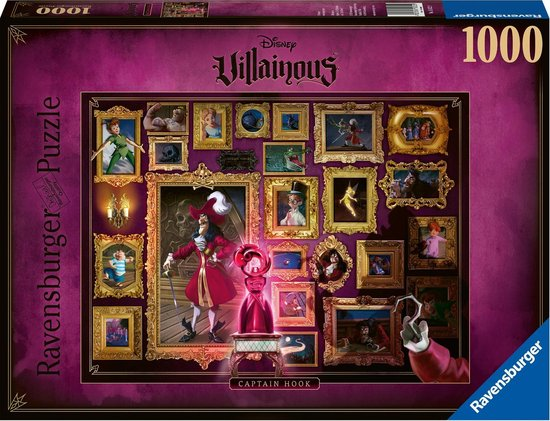 Ravensburger Villainous Captain Hook 1000 stukjes