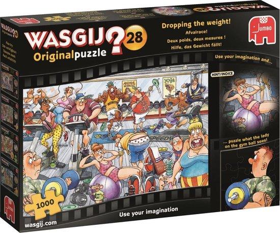 Wasgij Puzzel 28: Afvalrace, 1000 stukjes