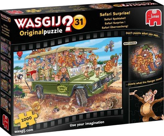 Wasgij Puzzel 31: Safari Spektakel, 1000 stukjes