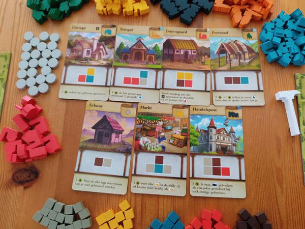 Tiny Towns: spelopzet