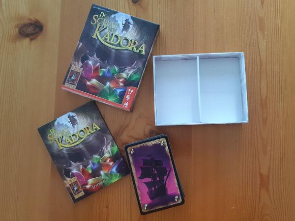 De Schat van Kadora: inhoud van de doos