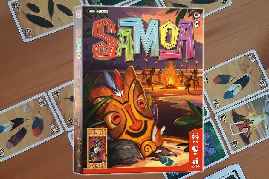 Samoa kaartspel review: versier je geheime masker