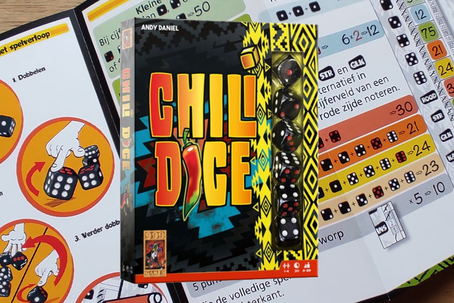 Chili Dice dobbelspel review: een pittig dobbelspel!