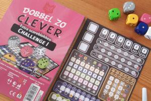 Dobbel zo Clever Challenge 1 dobbelspel review: Eindeloze mogelijkheden