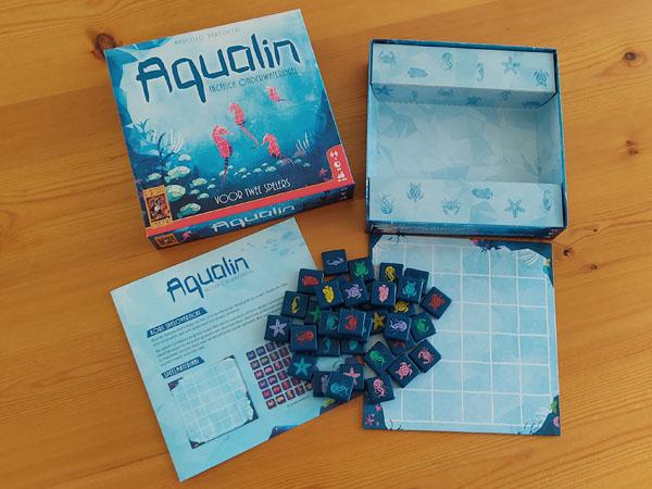 Aqualin inhoud van de doos