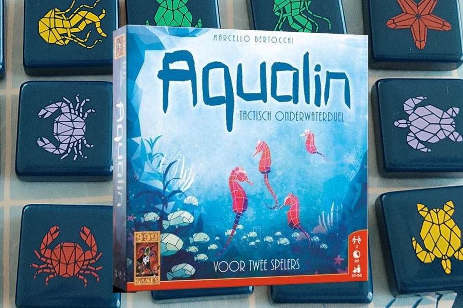 Aqualin spel review: Tactisch onderwaterduel