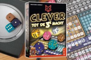 Clever tot de 3e Macht dobbelspel review: Tactisch en spannend