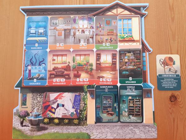 Droomhuis volledig ingericht huis met kamers