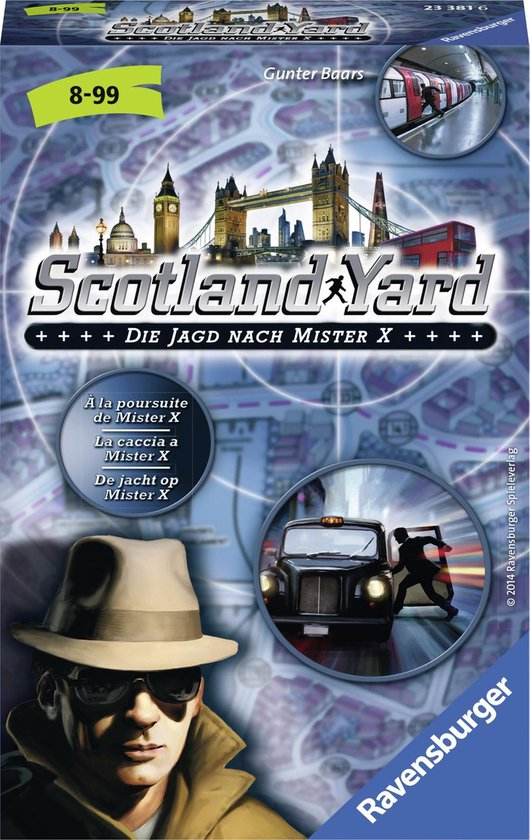 Scotland Yard pocketspel