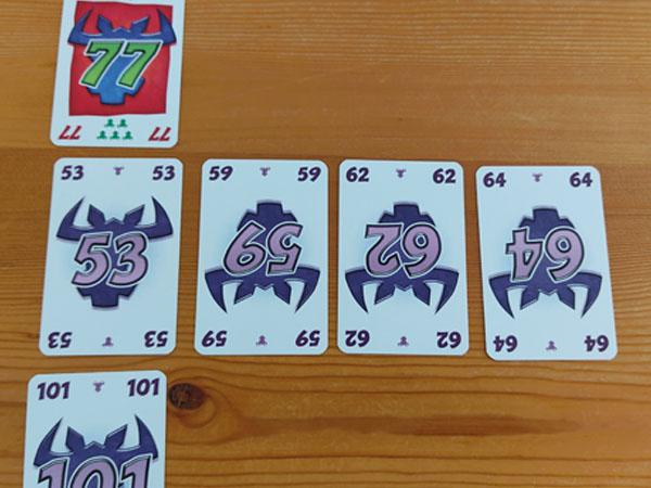 Take 5: kaarten op rij