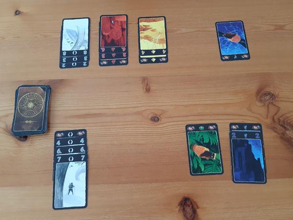 Lost Cities kaartspel: meer progressie