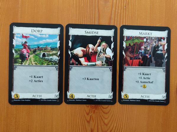 Dominion actiekaarten