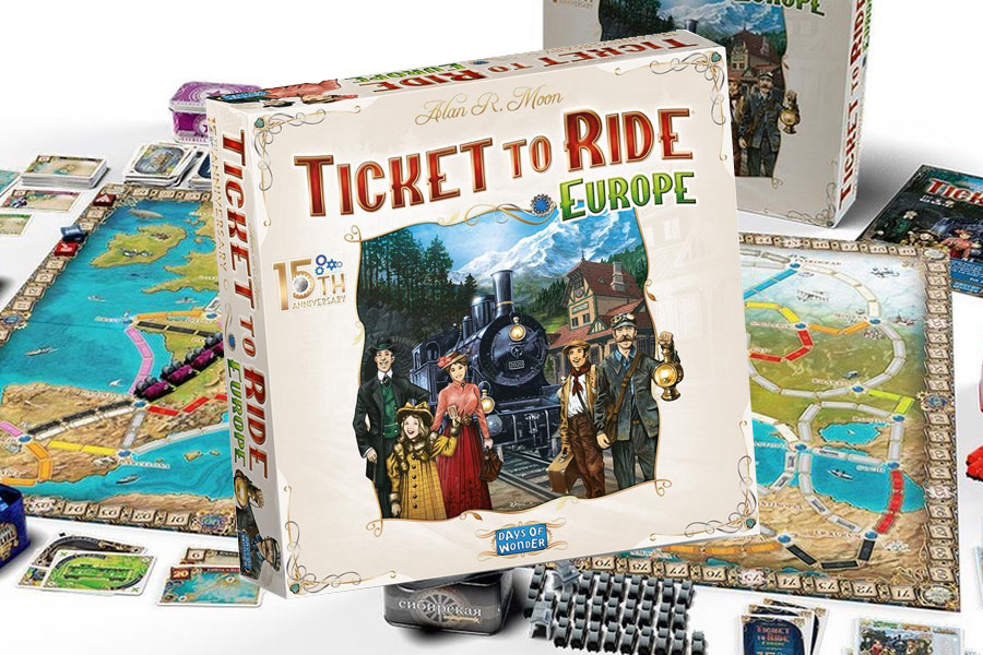 Lees meer over het artikel Ticket to Ride Europe 15th Anniversary aangekondigd: wat kunnen we verwachten?