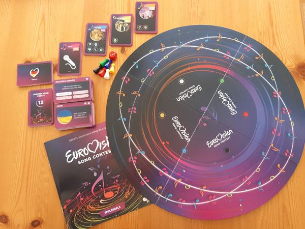 Eurovision Song Contest inhoud van de doos