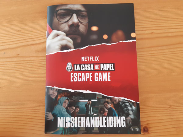 Casa De Papel - Escape Game missiehandleiding