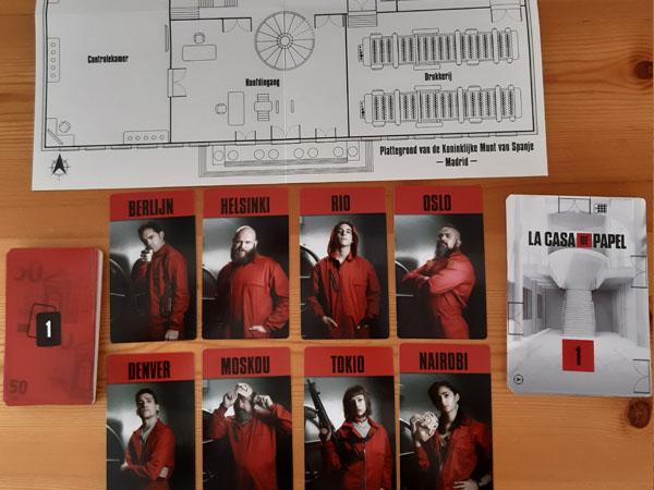Casa De Papel - Escape Game spelopzet