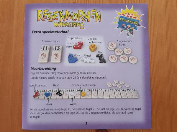 Regenwormen uitbreiding spelregels