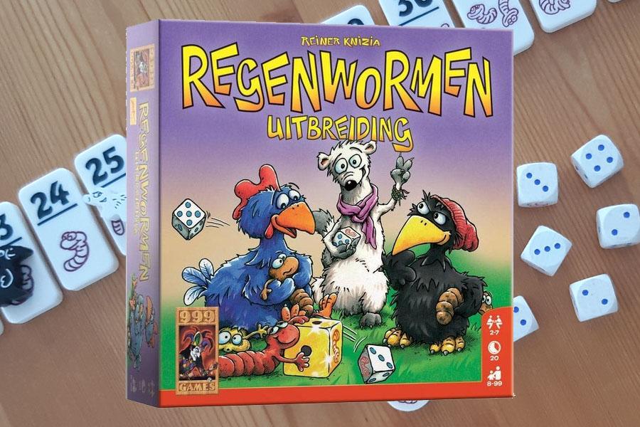 Je bekijkt nu Regenwormen Uitbreiding review: dobbel slim naar nog meer wormen